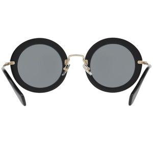 Miu Miu Accessories - Miu Miu Sunglasses Black/Grey w/Grey Lens